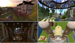 "4 Virtual Spaces in ""Second Life"" that Explore Alternatives in Religious Architecture"