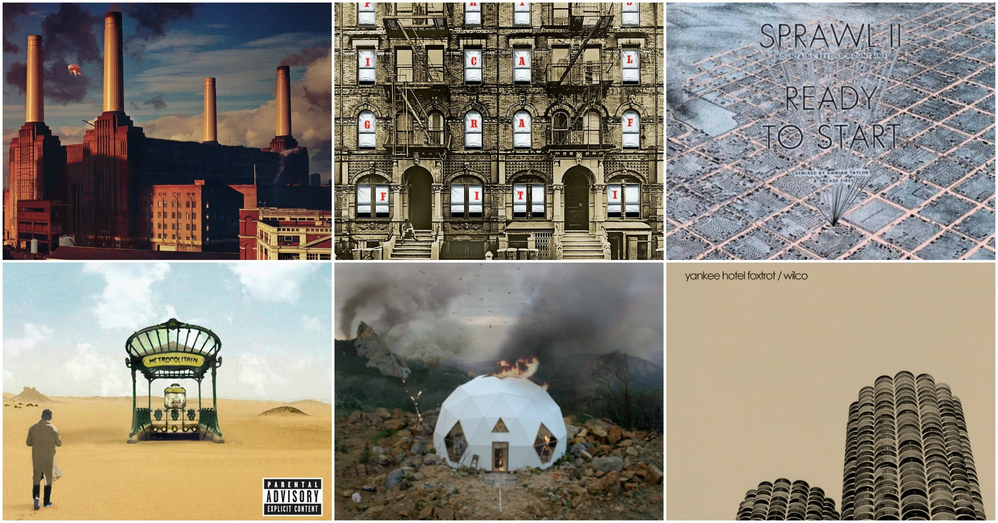 Las historias arquitectónicas detrás de 7 álbumes famosos