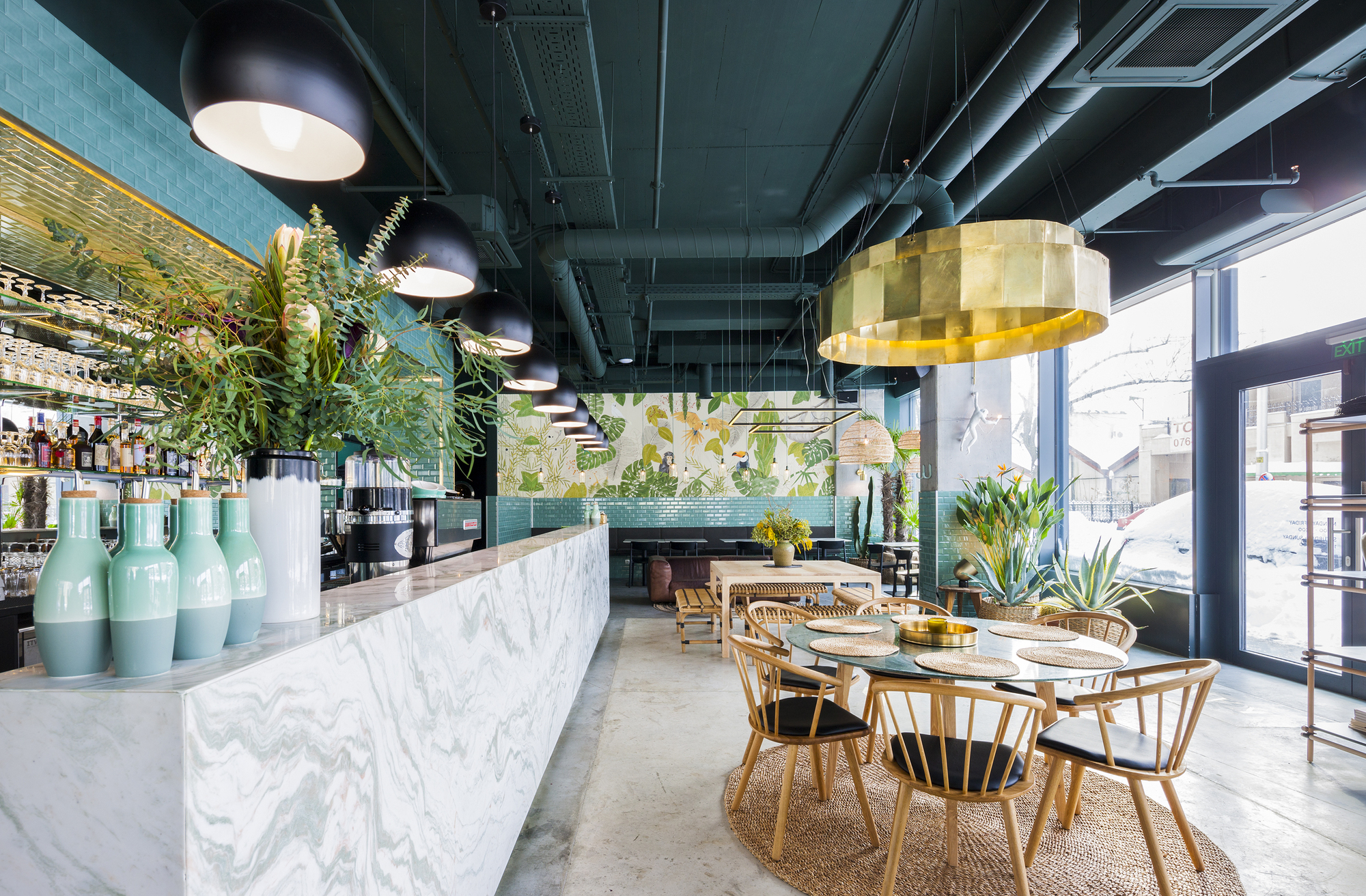 Gallery of kane world food studio bogdan ciocodeic 6 for Decoration urban jungle