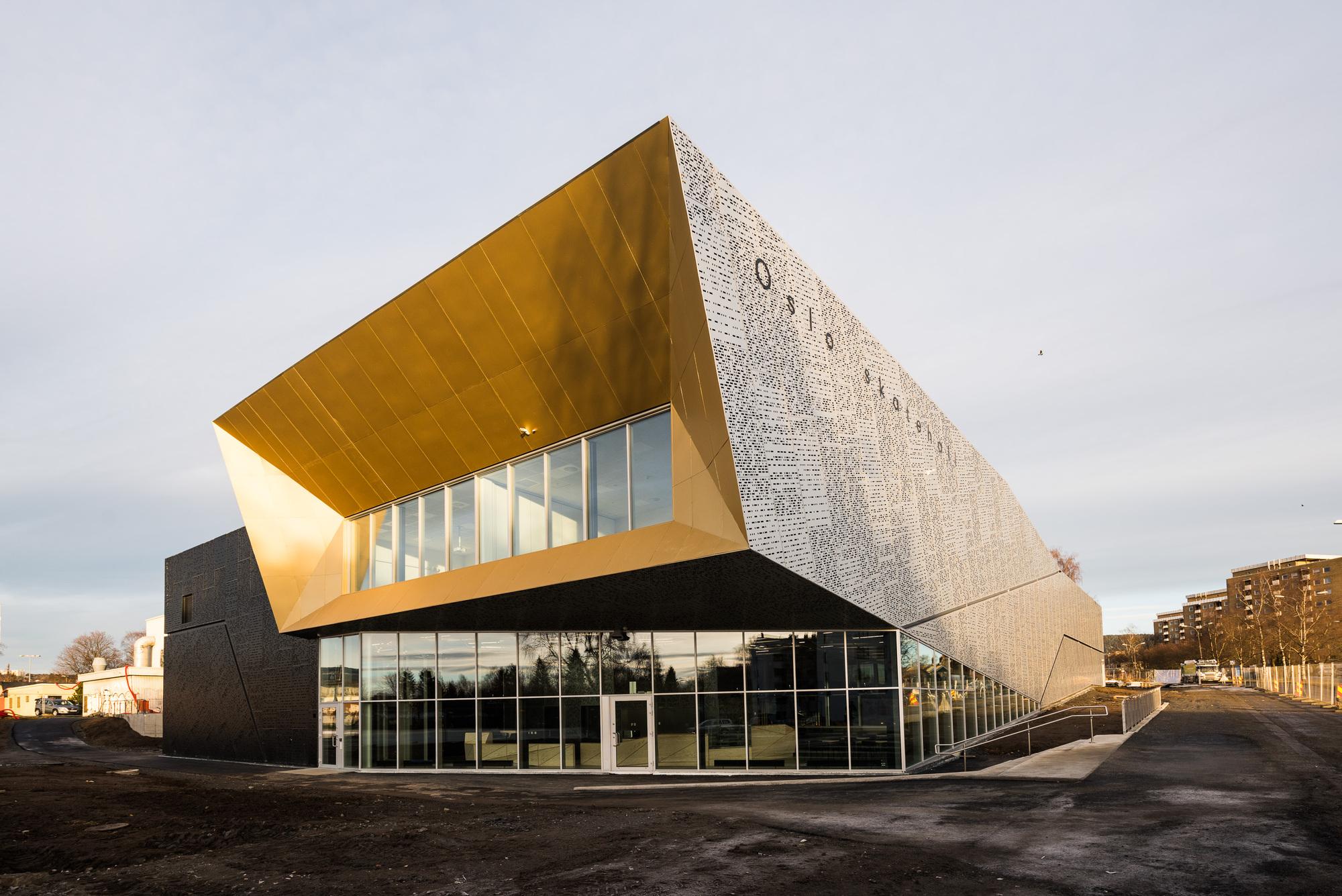 Oslo Skatehall Dark Arkitekter Archdaily