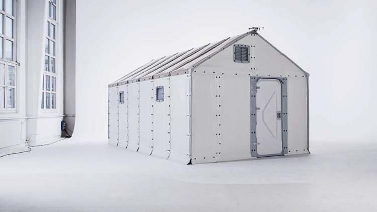 Vivienda para refugiados de IKEA es el 'diseño del año' según Design Museum, vía Better Shelter