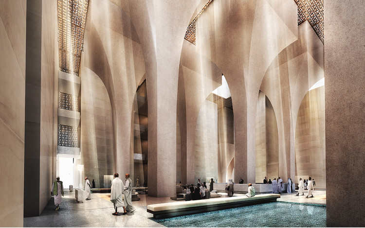Foster + Partners' Cascading Complex Wins Competition for New Hotel in Mecca, Courtesy of Foster + Partners
