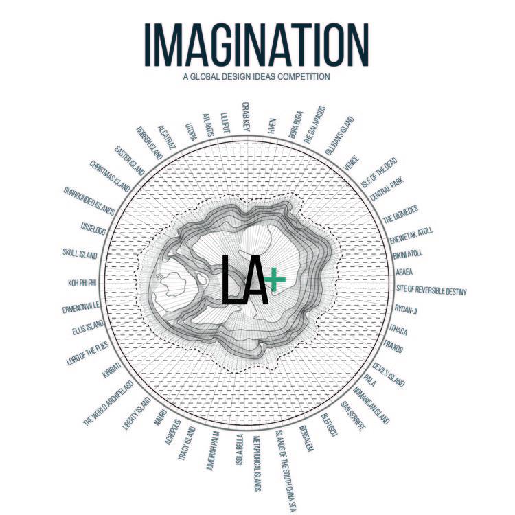 Open Call: LA+ IMAGINATION Design Ideas Competition, LA+ IMAGINATION (Design by A. Koll + P. Pottapu)