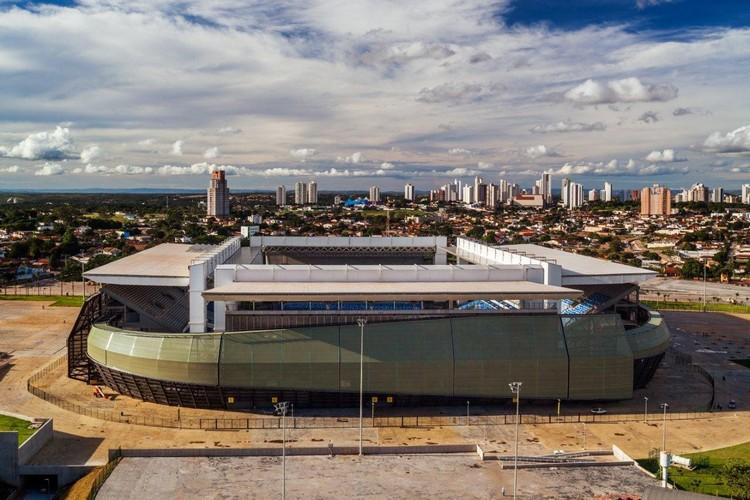 Arena Pantanal abrigará escola com 75 salas de aula, Arena Pantanal, por GCP Arquitetos. Image © Nelson Kon