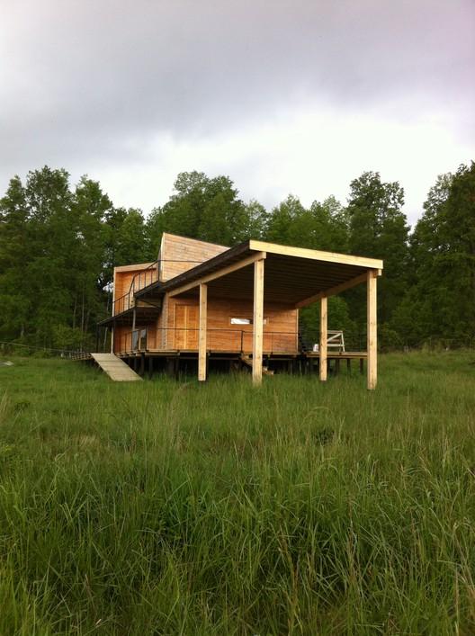 Casa C-expuesta  / T25 Arquitectos, © Yair Estay