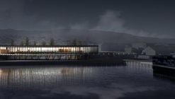Beals Lyon Arquitectos, segundo lugar en concurso del Terminal Internacional de Pasajeros de Punta Arenas, Chile