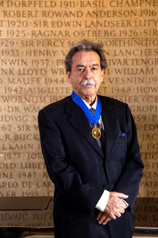Paulo Mendes da Rocha recibe la Royal Gold Medal de Arquitectura 2017, Paulo Mendes da Rocha. Imagen © Morley von Sternberg. Cortesía de RIBA