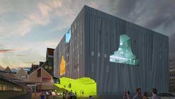 Recorre el futuro Centro Cultural Zaanstad, diseñado por MVRDV