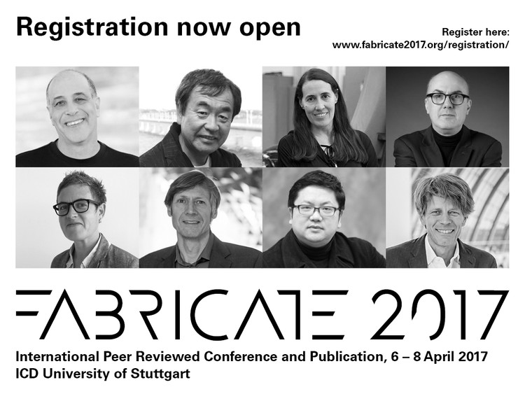 FABRICATE 2017 - International Peer Reviewed Conference and Publication, FABRICATE 2017 at University of Stuttgart