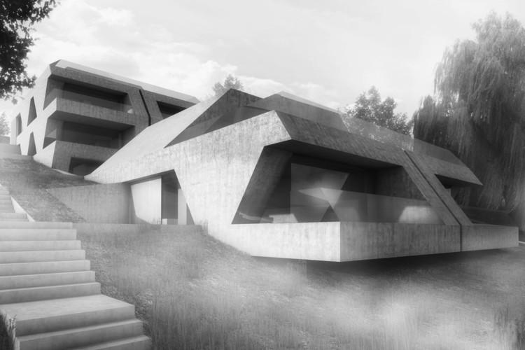 """Exhibition: """"Total Recall"""" by gus wüstemann architects in Zurich, Housing Project in Zurich"""