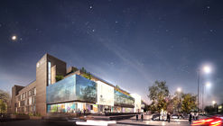 Architecture Initiative Transforms Derelict Brutalist Northampton Landmark into Mixed-Use Academy