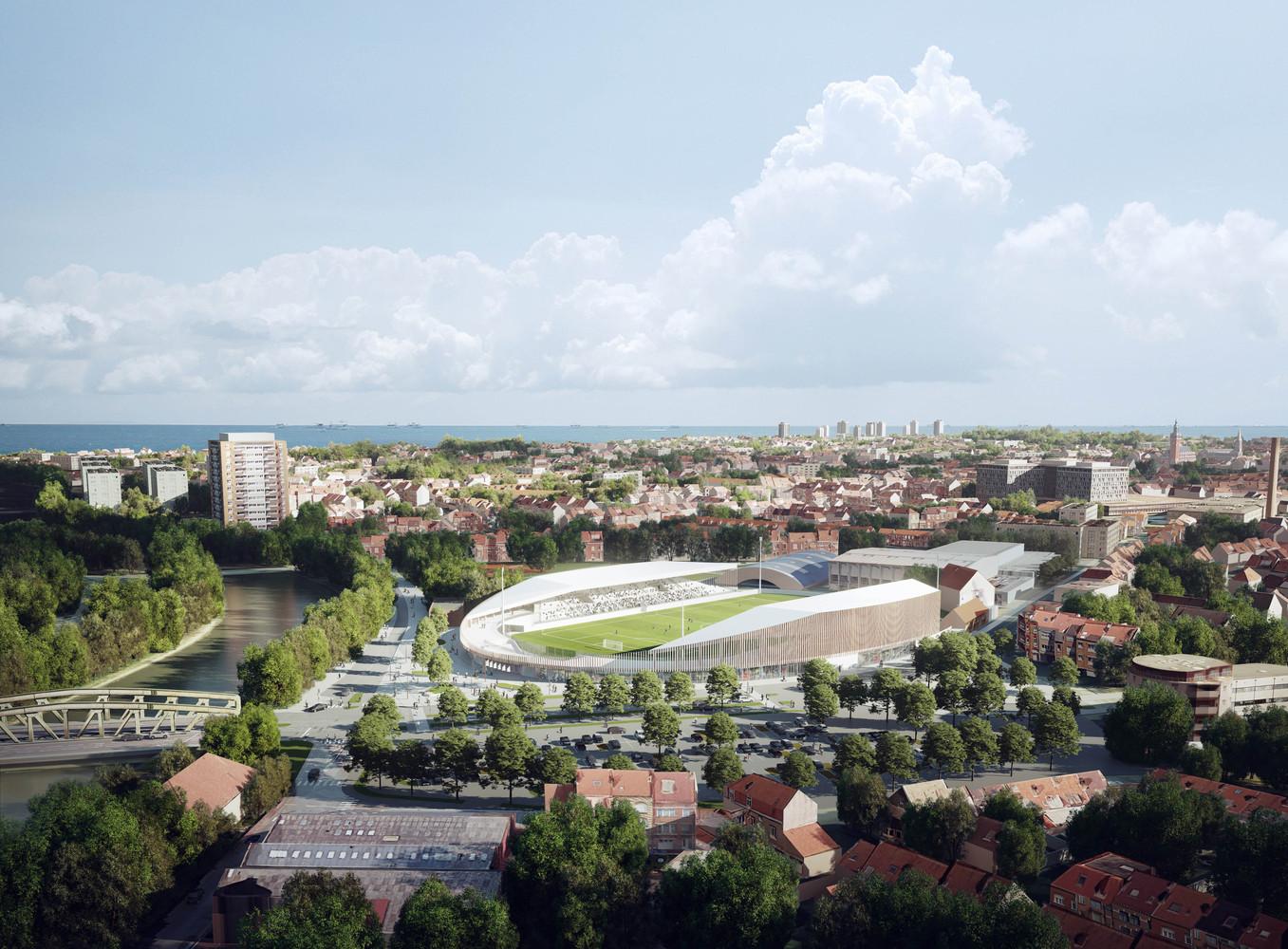 Gallery Of Competition Winning Stadium Design Promotes Inclusivity