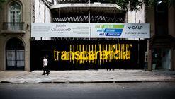 'Variaciones sobre transparencias', una interferencia urbana bajo el lente de Gonzalo Viramonte