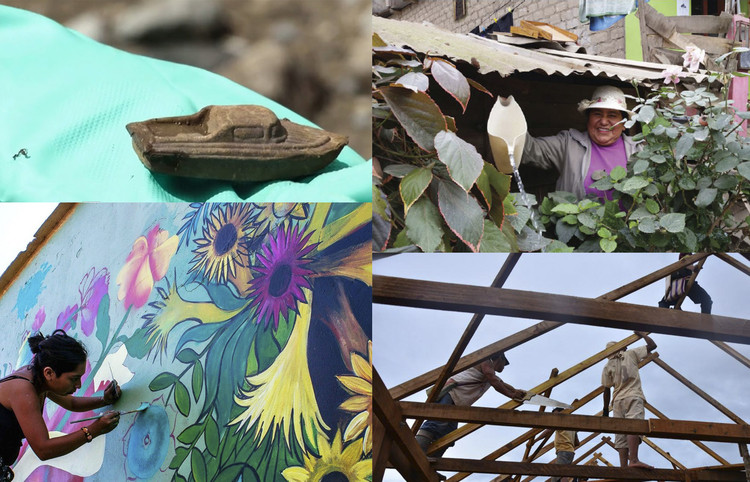 4 proyectos itinerantes que están impactando positivamente en Lima, Collage Itinerante. Image © Delia Esperanza