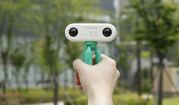 This Kickstarter Camera Mimics Human Eyesight, via Kickstarter. Courtesy of TwoEyes Tech