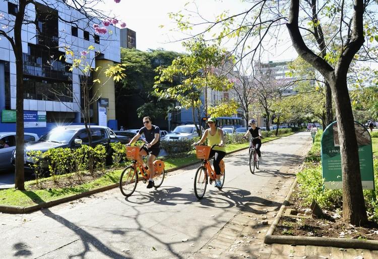 Bicicleta pode gerar uma economia de 513 bilhões de euros por ano na Europa, © Mariana Gil/WRI Brasil Cidades Sustentáveis