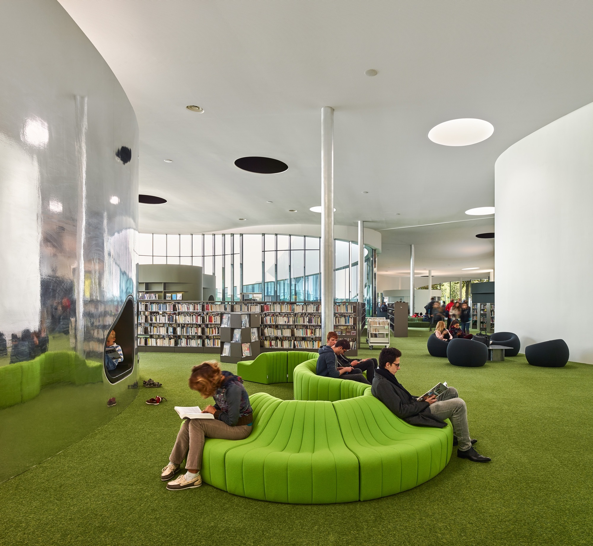 Gallery Of Media Library Third Place In Thionville