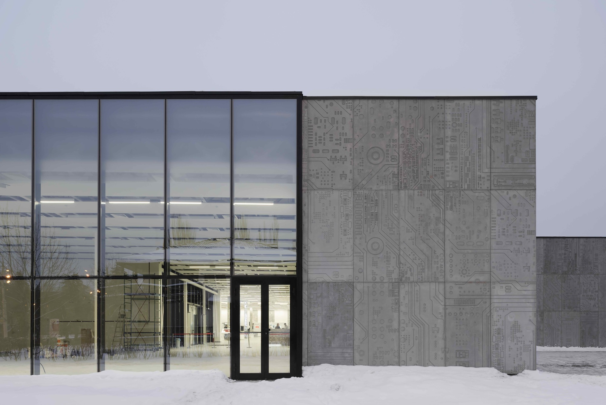 Best Image Pavilion DIT [Department of Information Technology] / Architecture bureau WALL
