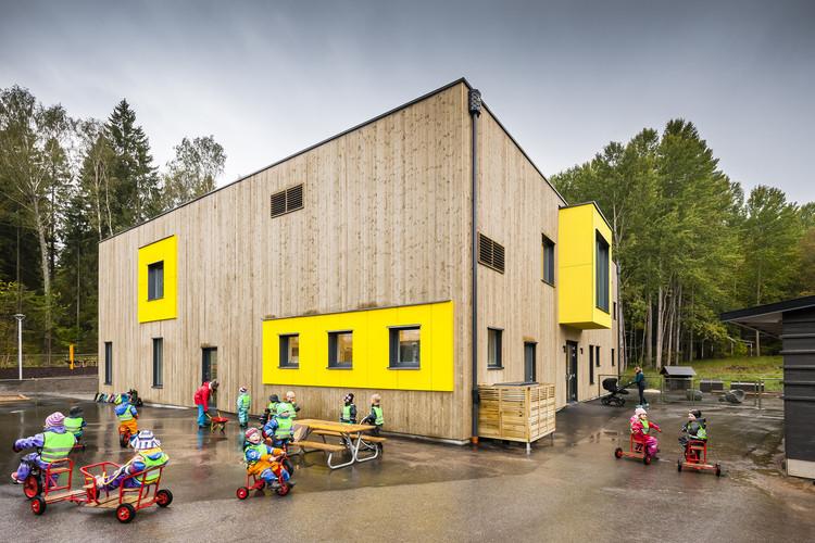 Vendelsö Hage Preschool / LINK arkitektur, © Hundven-Clements Photography