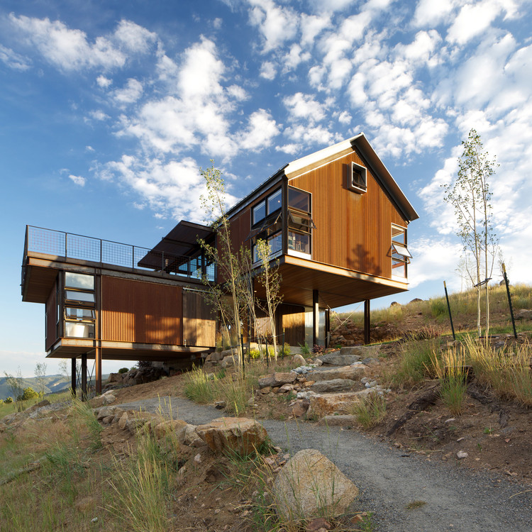 Casa Sunshine Canyon / Renée del Gaudio, © David Lauer