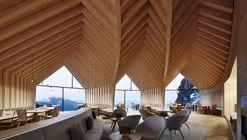 Oberholz Mountain Hut / Peter Pichler Architecture + Pavol Mikolajcak Architekten