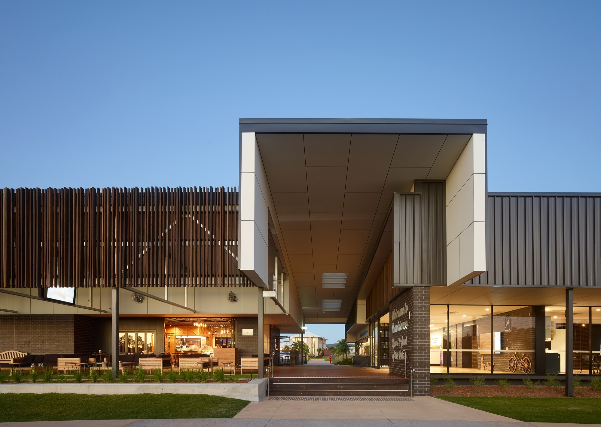 Providence Neighbourhood Centre Ellivo Architects