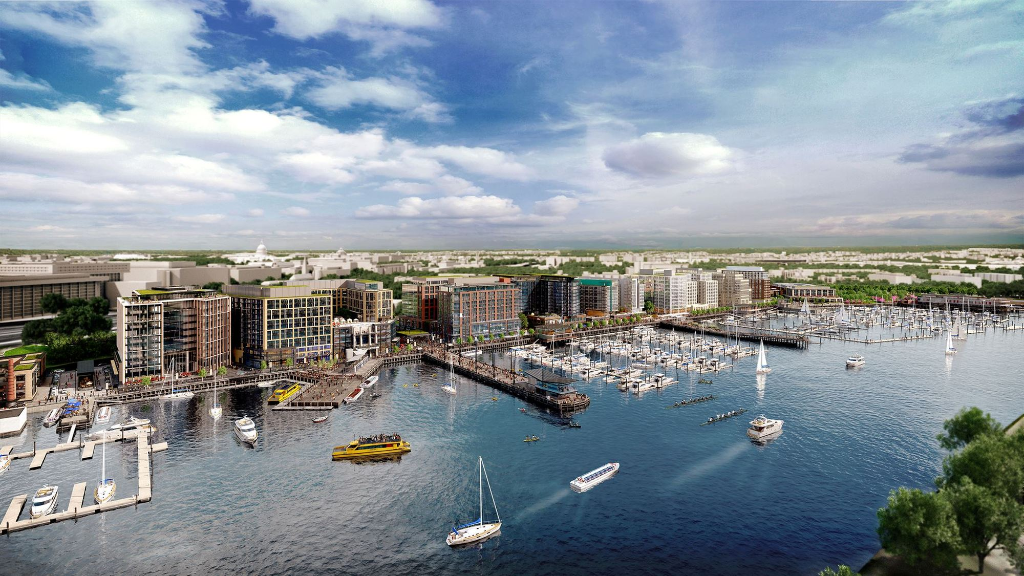 eleven practices to complete  2 billion waterfront