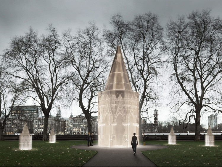 Rachel Whiteread Wins 2017 Ada Louise Huxtable Prize, Caruso St John (UK) with artist Rachel Whiteread. Image © Caruso St John Architects, Marcus Taylor and Rachel Whiteread & Malcolm Reading Consultants