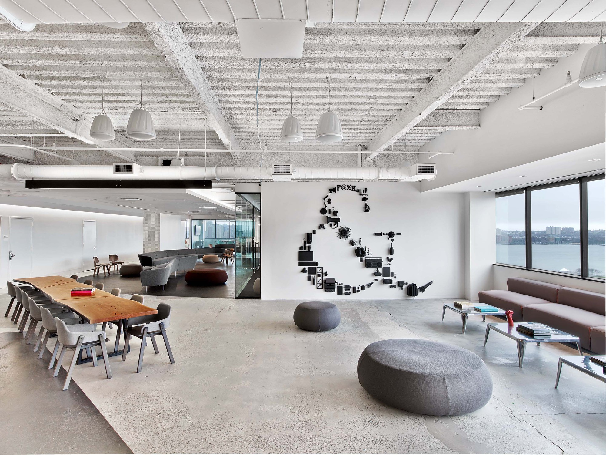 Saatchi Amp Saatchi New York Office M Moser Associates