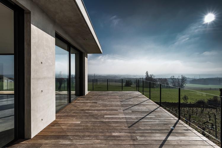 Casa en Challex / Zoomfactor Architectes, © Lotfi Dakhli