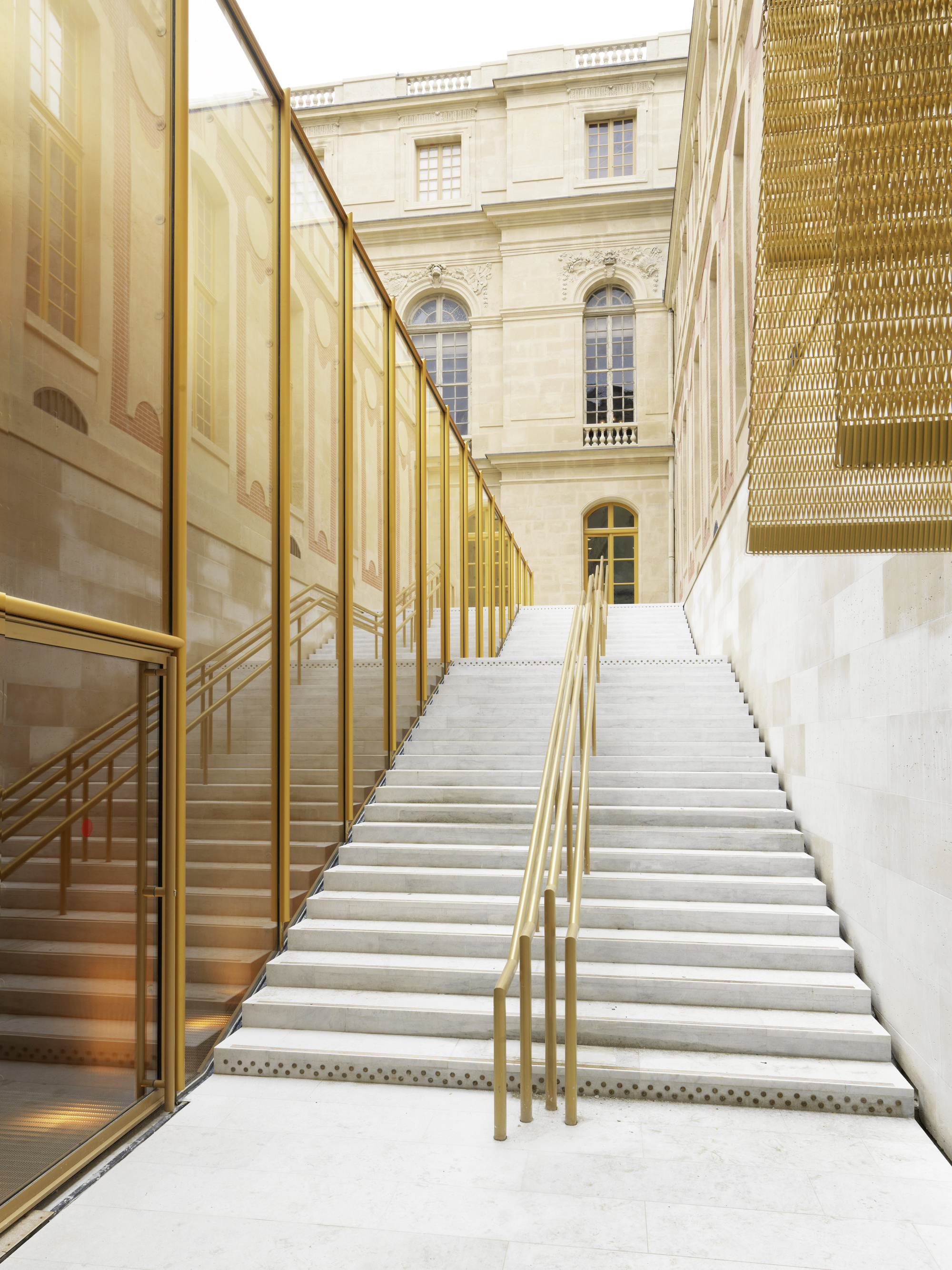 architecture yellow. winner in the best applied product category refurbishment of pavilion dufour chteau de versailles architecture yellow n