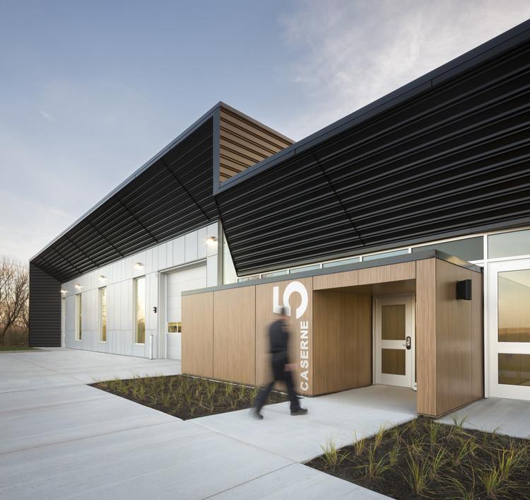 Estación de Bomberos #5  / STGM Architectes  + CCM2 Architectes, © Stéphane Groleau