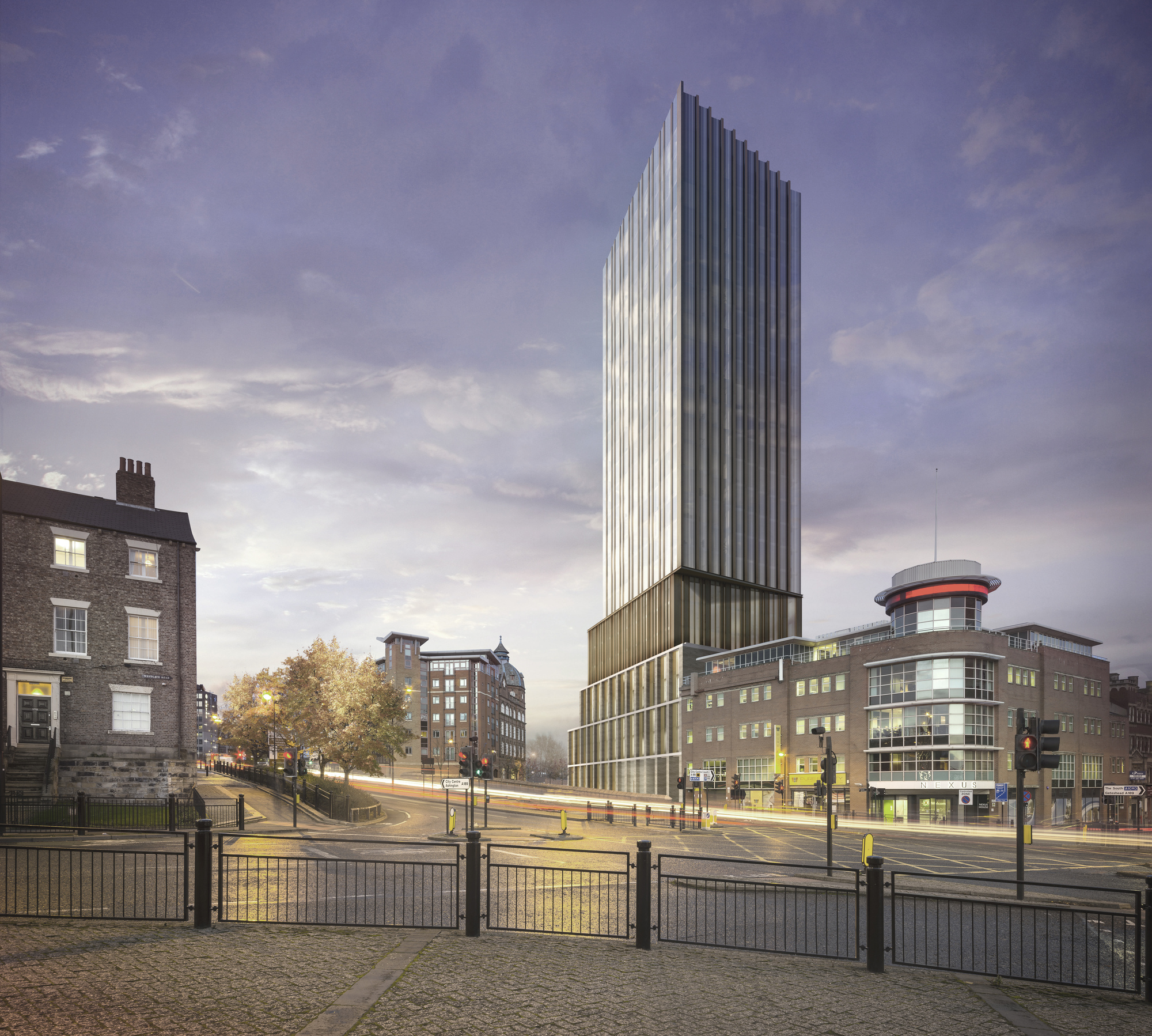 Stacked Residential Tower to Become One of Newcastle's ...