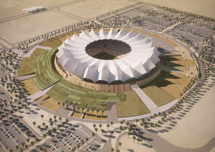 Schiattarella Associati Unveils Riyadh Stadium Plans, Courtesy of Schiattarella Associati