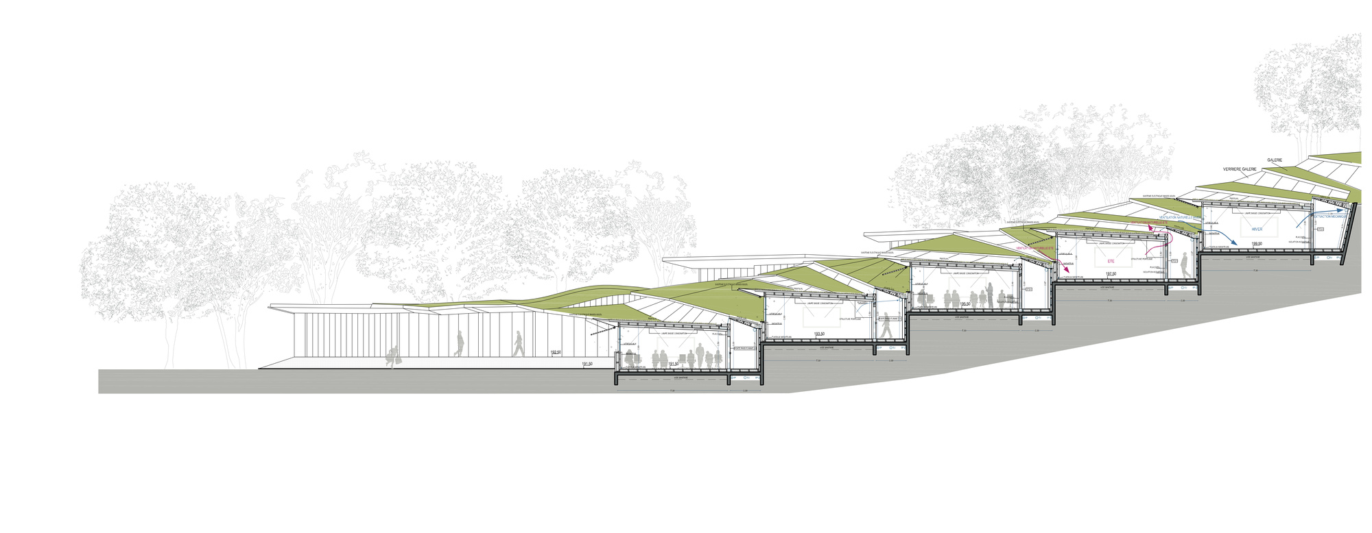 Gallery Of Jean Moulin High School Duncan Lewis Scape