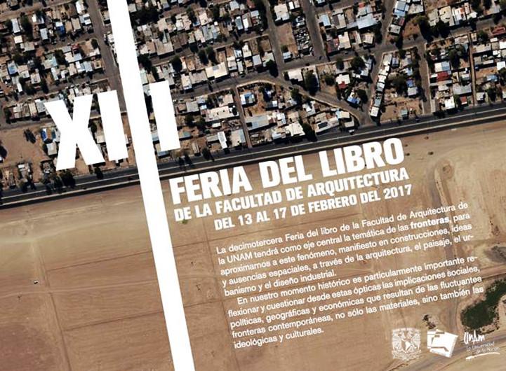 XIII Feria del libro de la Facultad de Arquitectura, Facultad de Arquitectura