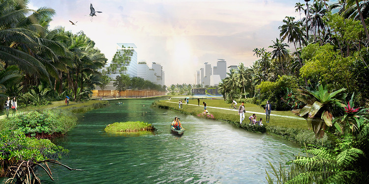 Winning Proposal to Define Jurong Lake District as Singapore's Newest Business Hub, © KCAP, SAA, Arup, S333, Lekker