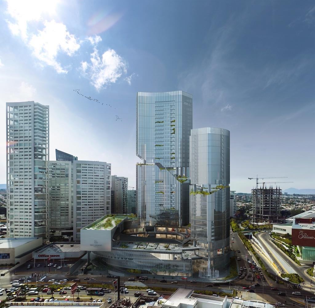 Sordo madaleno arquitectos presenta 39 the landmark 39 un for Arquitectura de proyectos