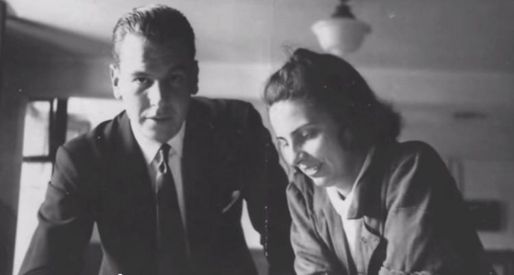 Delfina Galvez Bunge: La mano derecha de Amancio Williams, nunca reconocida, Delfina Gálvez y Amancio Williams. Image vía Un Día | Una Arquitecta