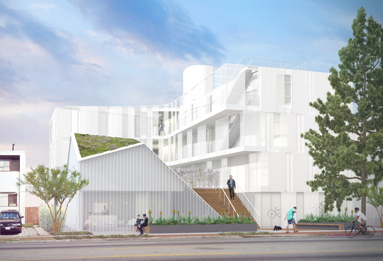 LOHA's Latest Supportive Housing Complex Curbs LA's Increasing Homelessness, © Lorcan O'Herlihy Architects