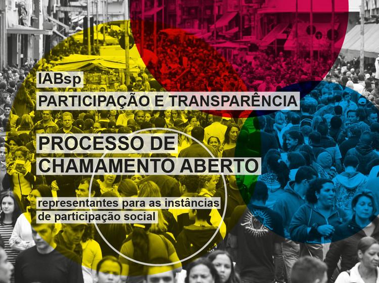 Chamada a arquitetos e urbanistas para representar o IAB-SP em instâncias de participação social, Cortesia de IAB-SP
