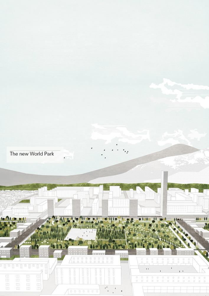 Gallery of Tirana 2030: Watch How Nature and Urbanism Will