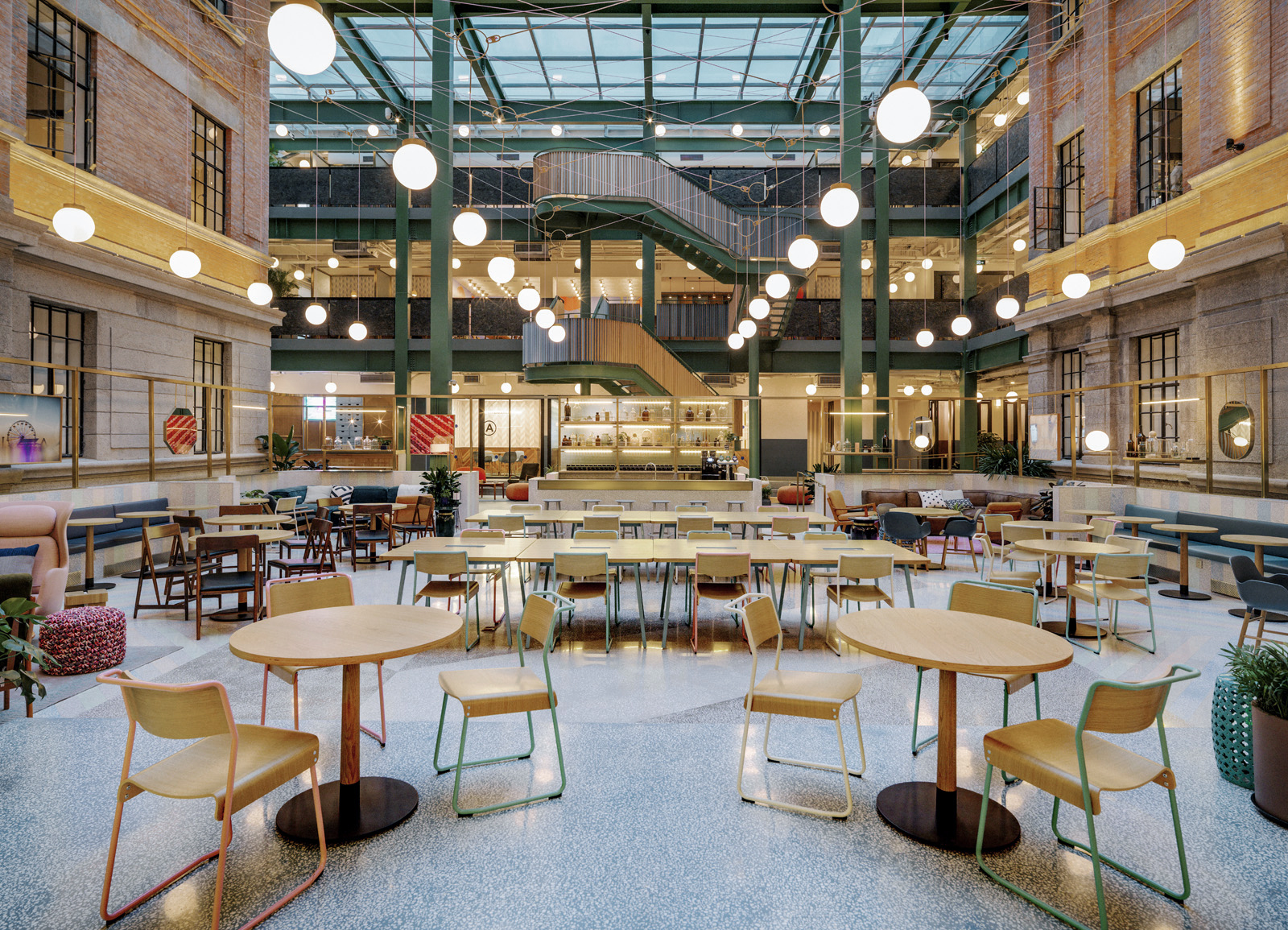 Chicago Kitchen Design Wework Weihai Lu Linehouse Archdaily