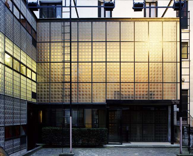A Look at Pierre Chareau, the Mysterious Man Behind the Maison de Verre, Pierre Chareau (French, 1883-1950) and Bernard Bijvoet (Dutch, 1889-1979), Maison de Verre, 1928-1932. Image © Mark Lyon