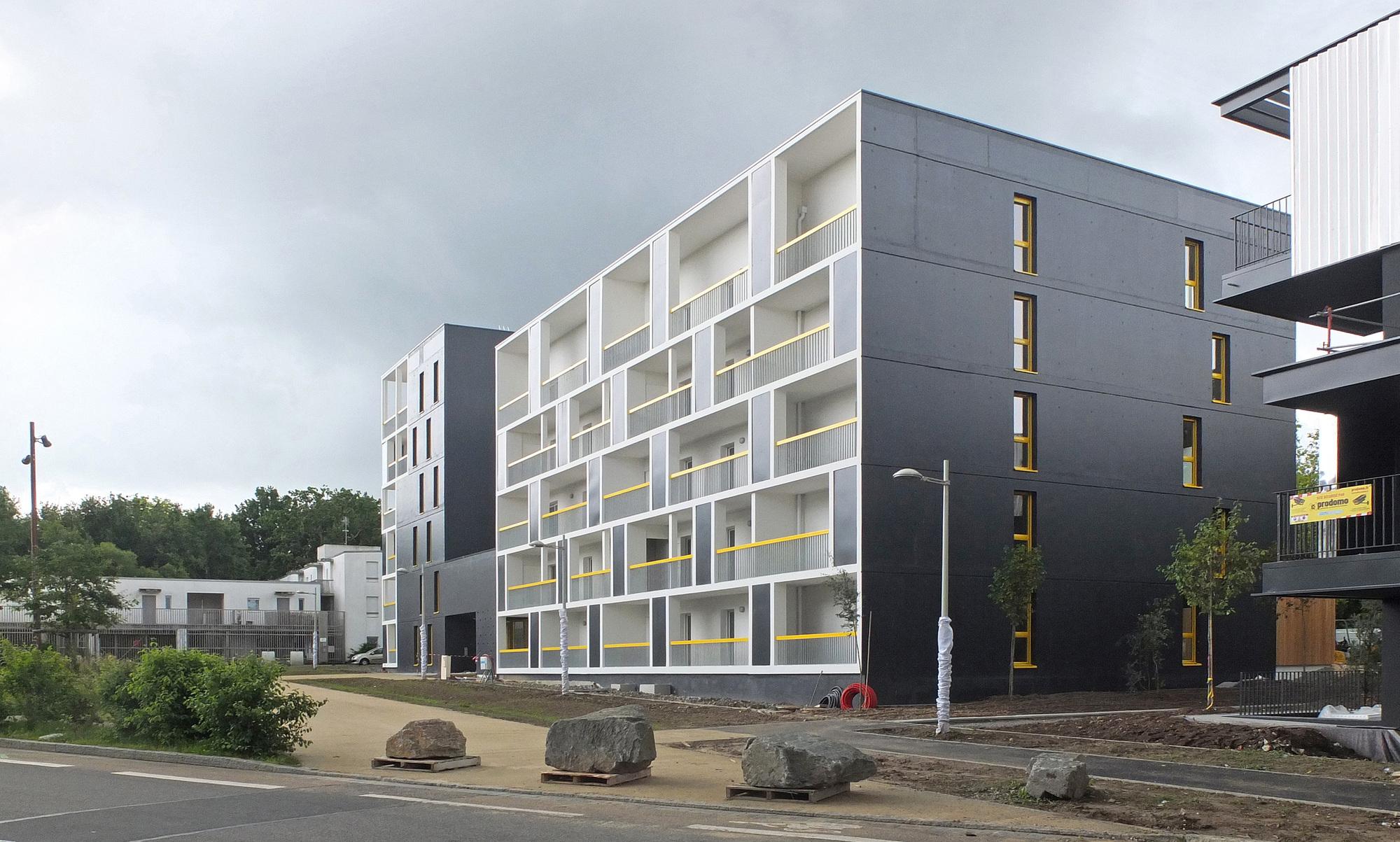 galer a de les patios erdre porterie jacques boucheton architectes 7. Black Bedroom Furniture Sets. Home Design Ideas