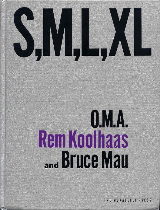 Watch rem koolhaas present smlxl at the aa in 1995 archdaily save this picture fandeluxe Choice Image