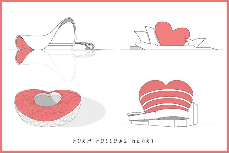 105 postales de San Valentín para arquitectos (y amantes de la arquitectura), Shaghayegh Daneshmand- Saman Farahmand