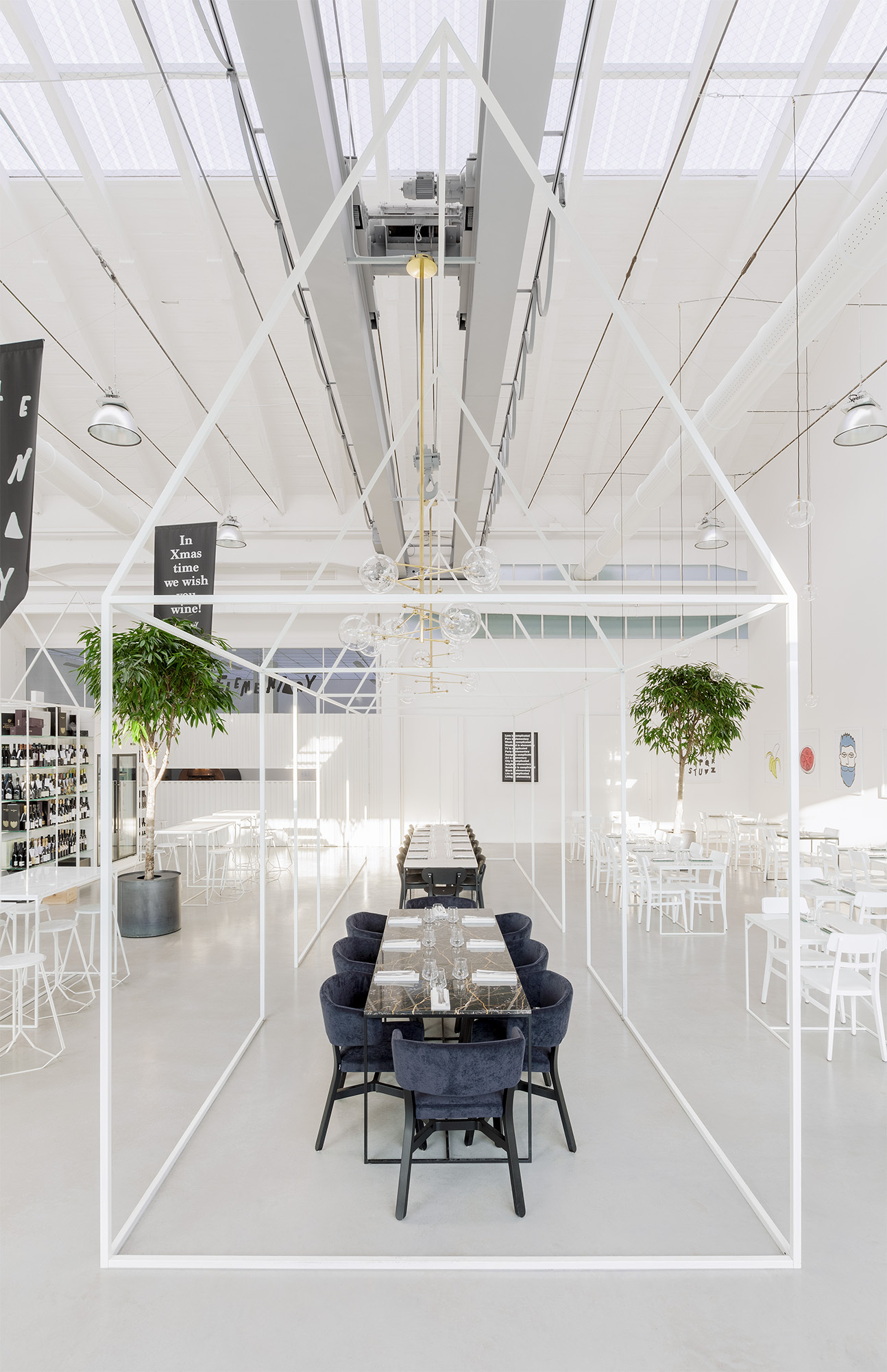 Gallery of the b zone 1882 concept store a m 2 for Notion architecture