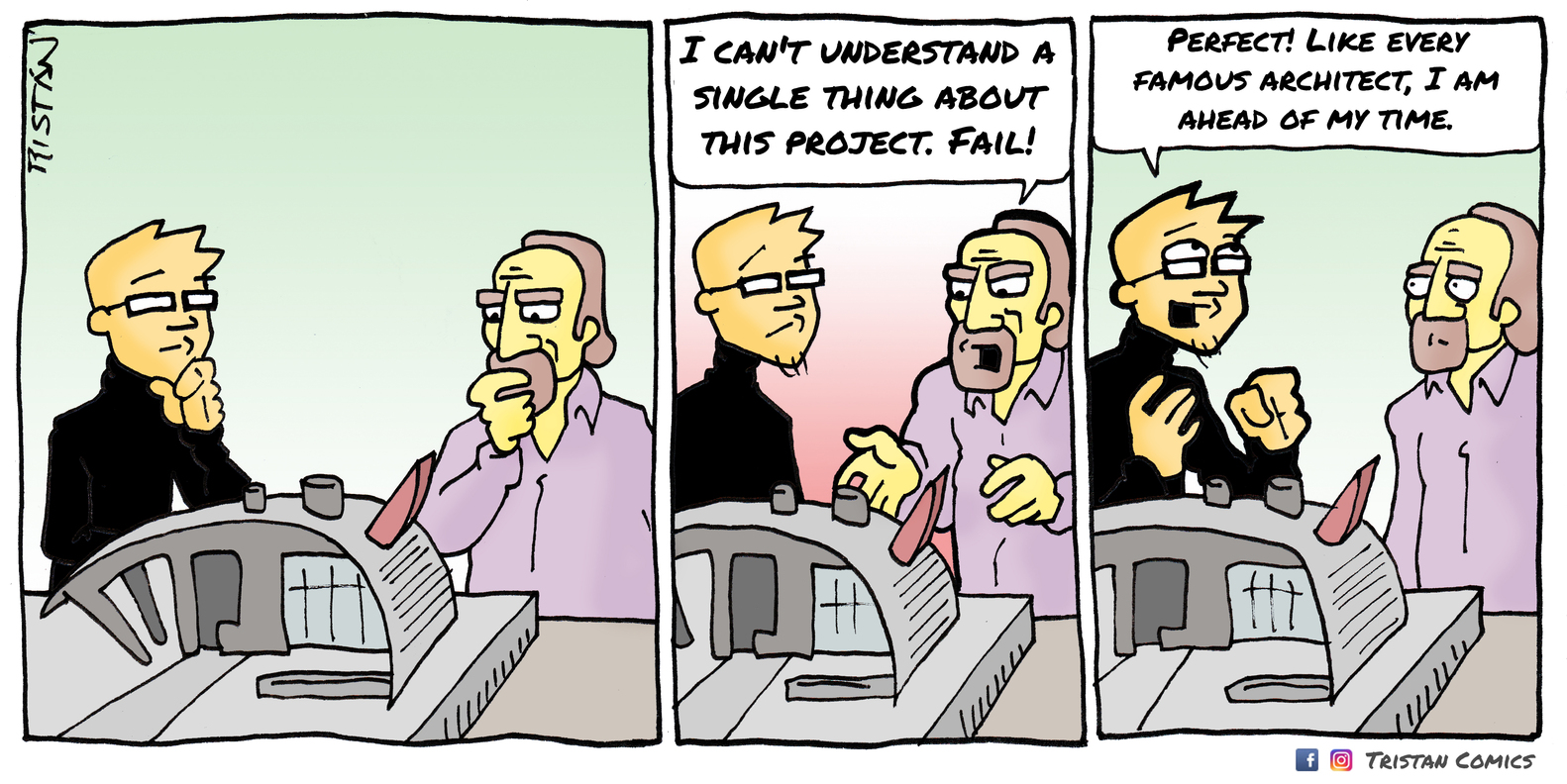Architecture Student gallery of the architecture student through 15 comic strips - 11
