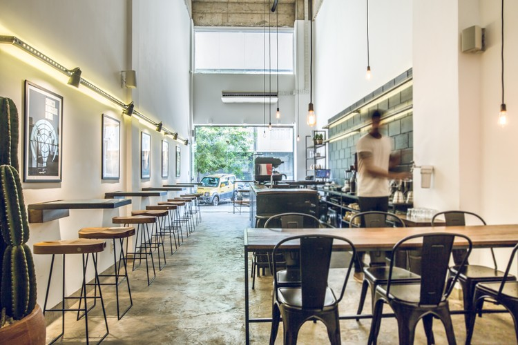 Oop Coffee / PAA Arquitetura Comercial + Marina Garcia, © Luíza Ananias